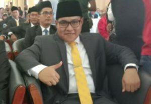 Daeng Ganda Rahmatullah di Acara Pelantikan DPRD Natuna periode 2019-2024