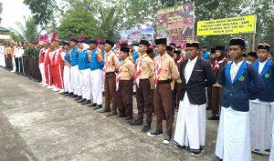 Para peserta lomba PBB dan PPM dari tingkat SMP dan SMA sederajat