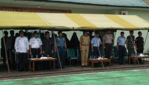 Bupati bersama para pimpinan FKPD, OPD dan para tamu undangan yang hadir.