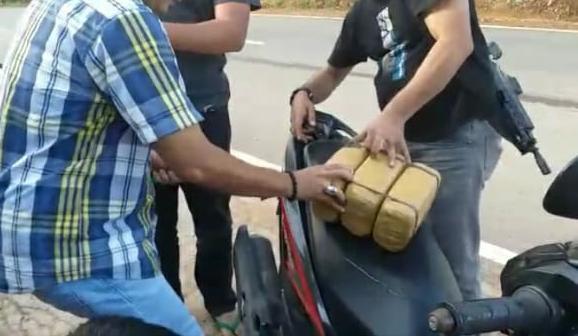 Bawa Ganja 3 Kg, Residivis Kembali Ditangkap Polisi Bintan.