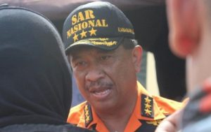 Kepala Basarnas Pusat, Marsekal Madya TNI Bagus Puruhito, SE.MM.