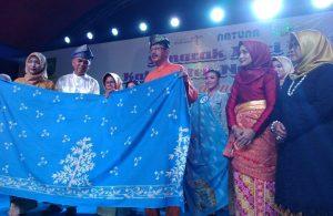 Inilah motif kain batik khas Natuna, yang baru saja ditetapkan.