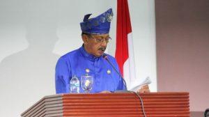 Pidato Bupati Natuna Abdul Hamid Rizal, pada HUT Kabupaten Natuna ke 20.