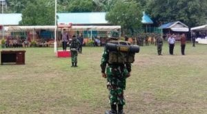 Pembukaan TMMD ke 106 tahun 2019 di Kabupaten Anambas.