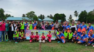 Foto bersama para peserta Sedanau Cup 2019.