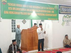 Sambutan Komandan Kodim 0318/Natuna, Letkol (Czi) Ferry Kriswardana, S.Sos., M.Tr., (Han).
