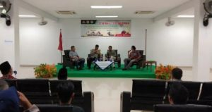 Seminar Kepemudaan yang digelar oleh Karang Taruna Ranai, di Aula STAI Natuna.