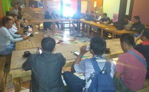 Rapat pembahasan perjuangan Provinsi Khusus Natuna.