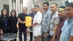 Pimpinan dan Anggota DPRD Natuna saat mendampingi nelayan Natuna bertemu Ketua Komisi I DPR RI.