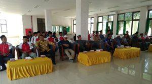 Para tamu undangan beserta para peserta musyawarah.
