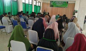 Suasana Pembukaan Latihan Kader 1 HMI Cabang Natuna tahun 2020.