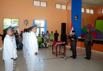 Wakil Bupati Lingga Lantik 13 Pejabat Sementara Kades