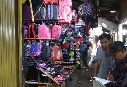 Menunggak Bayar Sewa, BUMD Tanjungpinang Ambil Alih Kios Pedagang