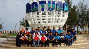 Para pengurus dan anggota DPD KNPI Kabupaten Natuna.