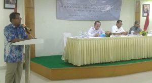 Penjelasan dari Kasubdit Kelembagaan dan Perlindungan Nelayan KKP RI, Mahrus.