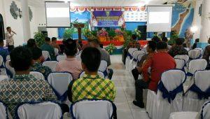 Suasana Musrenbang wilayah II tingkat Kecamatan di Kabupaten Natuna tahun 2020.