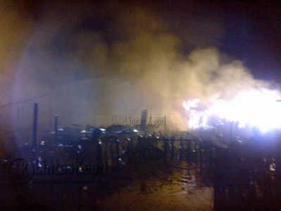 Kebakaran di Tarempa Berasal dari Rumah Bahar