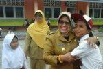 Guru dan Siswa SDN 005 Sepempang Sumringah Didatangi Wabup Natuna