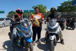 10 Hari Lakukan Perjalanan Menuju 0 Km Indonesia, Akhirnya Dua Raider BIMO Bintan Kembali
