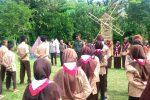 Babinsa Binjai Hadiri Pembukaan Porseka di Pesantren Madinatunnajah