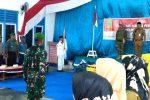 Anggota Koramil 03/Sedanau Jadi Danup Pengukuhan Paskibra di Bunguran Barat