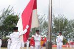 Upacara Peringatan Detik-Detik Proklamasi Kemerdekaan RI ke-74 di Tanjungpinang berlangsung Khidmat