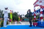 Upacara Penaikan dan Penurunan Bendera HUT RI ke 74 di Bunguran Barat Sukses
