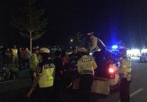 Satlantas Tanjungpinang Jaring Belasan Sepeda Motor Balap Liar