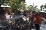 Diduga Sisa Pembakaran Kabel Bekas Pemicu Rumah Ramli Terbakar