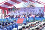 Perdana, Pemkab Natuna Gelar Upacara HUT RI ke 74 di Masjid Agung NGU