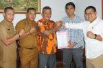 MPC Pemuda Pancasila Sowan Pimpinan DPRD Natuna
