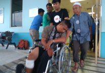 Polisi Tembak Perampok Nasabah Bank di Tanjungpinang