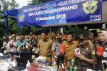 Bea Cukai Tanjungpinang Musnahkan Barang Hasil Tegahan 2018 dan 2019