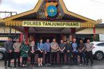 Silaturahmi dengan Polres Tanjungpinang, Komisi 1 Tanya Kesiapan Pengamanan Natal dan Tahun Baru