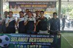 Sempena Hari Bakti PU ke-74, Dinas PUPR Tanjungpinang Gelar Turnamen Futsal