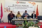 Bawaslu Gelar Diskusi Publik Tangkal Hoaks dan Politisasi SARA Jelang Pilkada 2020