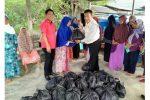 Fraksi PDI Perjuangan Blusukan ke Sebadai Hulu Natuna