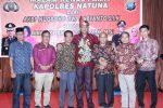 Sejumlah Anggota DPRD Natuna Hadiri Malam Kenal Pamit Kapolres