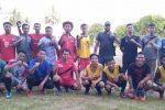 Jelang Laga Melawan Cemara FC, Pemuda Muslim Natuna FC Jajal Kesebelasan Meso