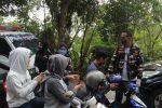 Cegah Covid-19, KB FKPPI Kepri Bagikan Masker ke Masyarakat